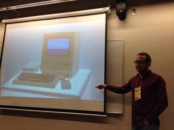 Ken Presenting at ETUG2014